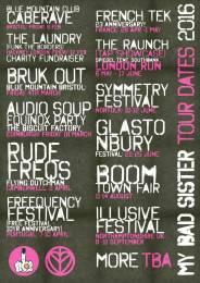 MBS Tour Poster Design #2