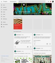 A screen grab of Vinyl deptford's Google+ page